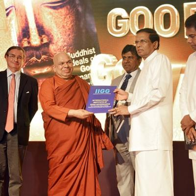 'Buddhist Ideals of Good Governance' book launch